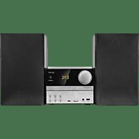 PEAQ Kompaktanlage PMS310BT-SL mit DAB+