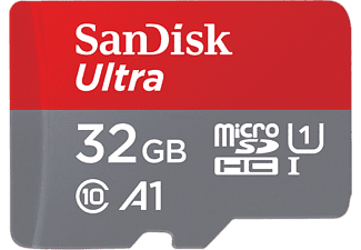 SANDISK Geheugenkaart microSDHC Ultra 32 GB Class 10 (173447)