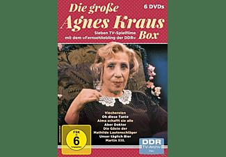Die große Agnes Kraus Box - Sieben TV-Spielfilme mit dem <gt/><gt/>Fernsehliebling der DDR DVD