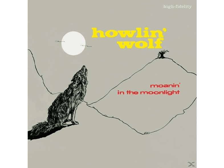 Howlin' Wolf - MOANIN' IN THE MOONLIGHT [CD]