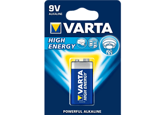 VARTA High Energy - Batterie (Blau/Silber)