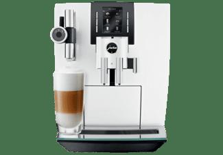 Cafetera superautomática Jura J6 Piano White, 1450W, 13 configuraciones, Bluetooth, Pantalla