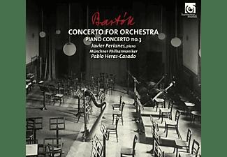 Javier Perianes, Münchner Philharmonika, Pablo Heras-casado - Klavierkonzert 3/Konzert Für  - (CD)