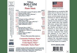 Ursula Oppens, Christopher Taylor, Constantine Finehouse, Estela Olevsky - Klaviermusik  - (CD)