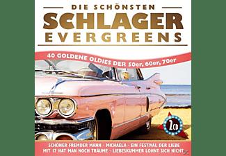 VARIOUS - Die schönsten Schlager Evergreens-40 Oldies  - (CD)