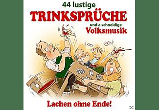 VARIOUS - 44 Lustige Trinksprüche U.A.Schneid.Volksmusik  - (CD)
