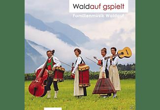 Familienmusik Waldauf - Waldauf gspielt  - (CD)