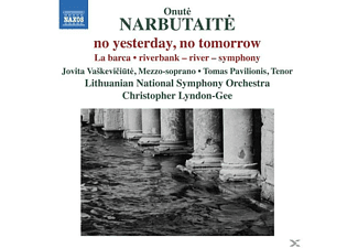 Jovita Cakeviciute, Tomas Pavilionis, Lithuanian National Symphony Orchestra, Christopher Lyndon-gee - no yesterday,no tomorrow/La Barca/+  - (CD)
