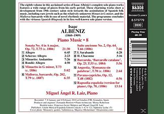 Miguel Angel R. Laiz - Klaviermusik Vol.8  - (CD)