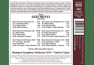 Csanyi Valeria, Mav Budapest Symphony Orchestra - Sämtliche Tänze für Orchester  - (CD)