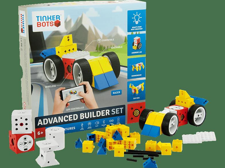 TINKERBOTS Tinkerbots Advanced Builder Set Baukastensystem, Mehrfarbig