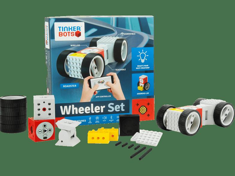 TINKERBOTS Tinkerbots Wheeler Set  Baukastensystem, Mehrfarbig