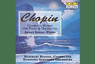 Abbey Simon, Hamburg Symphony Orchestra - Chopin: Comp.Piano & Orch. [CD]