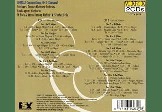 Südwestdeutsches Kammerorchester Pforzheim - Concerti Grossi,op.6  - (CD)
