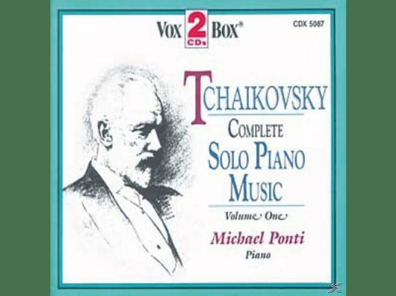 Michael Ponti - Sämtliche Werke für Klavier solo,Vol.1 [CD]