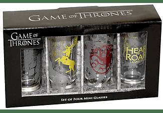 Game of Thrones Schnapsgläser 4er Set All Houses