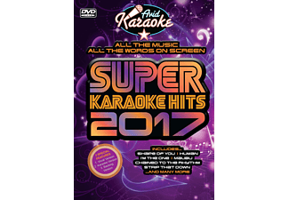 VARIOUS - Super Karaoke Hits 2017  - (DVD)