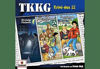 Tkkg - Krimi-Box 22 (Folgen 184,185,186)  - (CD)