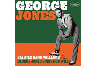 George Jones - Salutes Hank Williams+George Jones Sings Bob  - (CD)