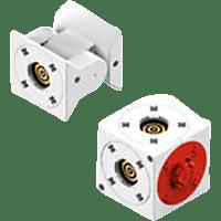 TINKERBOTS Tinkerbots Pivot & Cube Ergänzungssteine, Weiß/Rot