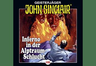 - John Sinclair-Folge 122 - Inferno in der Alptraum-Schlucht Teil 4 von 4  - (CD)