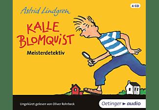 Astrid Lindgren - Kalle Blomquist Meisterdetektiv  - (CD)