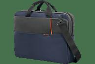 SAMSONITE Qibyte Notebooktasche, Umhängetasche, 17.3 Zoll, Blau