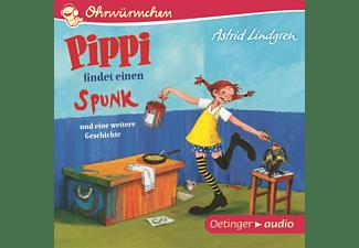 Astrid Lindgren - Ohrwürmchen - Pippi findet einen Spunk und eine weit  - (CD)