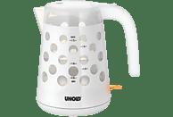 UNOLD 18540 Blitzkocher Pastello Wasserkocher, Weiß