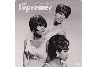 The Supremes, Diana Ross - Your Heart Belongs To Me - (Vinyl)