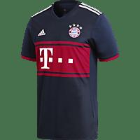 ADIDAS Bayern München Trikot, Blau/Rot