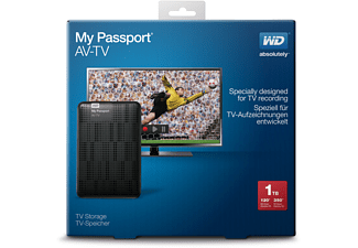 WESTERN DIGITAL TV Festplatte 1TB, 2.5 Zoll WDR-WDBHDK0010BBK