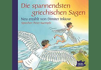 Dimiter Inkiow - Die spannendsten griechischen Sagen  - (CD)
