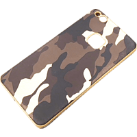 AGM 26773 TPU Case Army , Backcover, Huawei, P10 Lite, Kunststoff