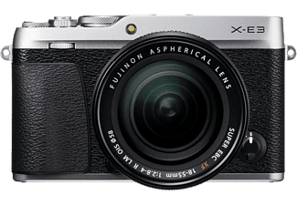 FUJI FILM X-E3 + XF 18-55 mm ezüst Kit