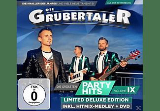 Die Grubertaler - Die größten Partyhits Vol.9  - (CD + DVD Video)