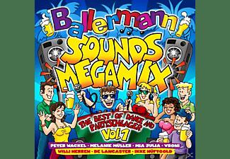 VARIOUS - Ballermann Sounds Megamix-The Bes  - (CD)
