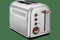 MORPHY RICHARDS Accents Toaster Rosegold gebürstet/Silber (850 Watt, Schlitze: 2)
