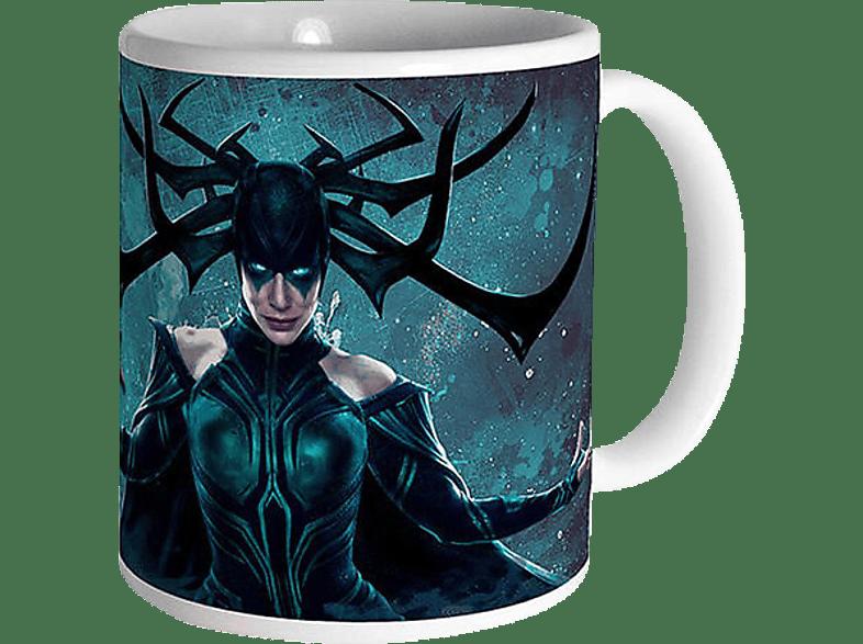SEMIC DISTRIBUTION Marvel Thor Ragnarok Tasse Hela (Cate Blanchett) Tasse, Mehrfarbig