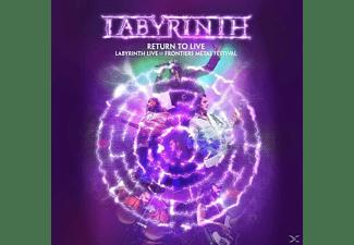 Labyrinth - Return To Live (Ltd.Gatefold/Black Vinyl)  - (Vinyl)