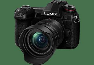 PANASONIC Lumix DC-G9MEG-K Systemkamera mit Objektiv 12-60 mm f/5.6, 7,5 cm Display, WLAN