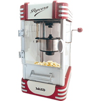 SALCO SNP 17 Party Popcornmaker Rot/Weiß