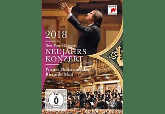 Wiener Philharmoniker - Neujahrskonzert 2018  - (DVD)