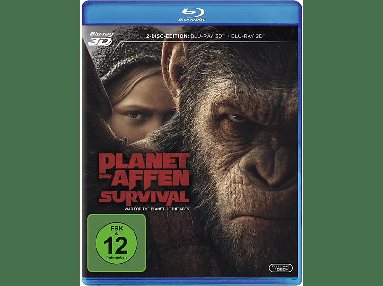 Planet der Affen: Survival [3D Blu-ray (+2D)]