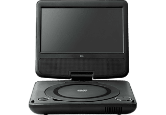 OK. OPD 720 Tragbarer DVD-Player, Schwarz
