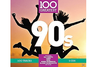 VARIOUS - 100 Greatest: 90s [CD]