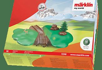 """MÄRKLIN my world """"Landschaft"""" Aufgleishilfe, Grün/Grau"""