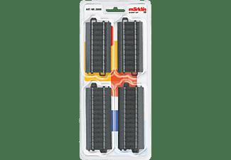 MÄRKLIN Gleis-Set mit 6 geraden Gleisen Gleismaterial, Mehrfarbig