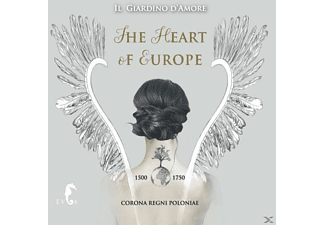 Il Giardino D'amore - The Heart Of Europe - (CD)