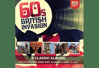 VARIOUS - 5 Classic Albums: 60s British Invasion  - (CD)